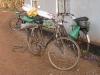 Transport der Baumaterialien